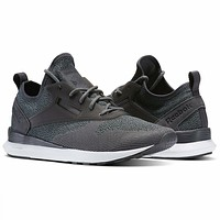 Reebok Zoku Runner UltraKnit Ash Grey White BD5996 Mens Athletic Shoes