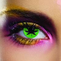 EDIT Cannabis Leaf Coloured Contacts