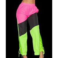 Gnarly Color Blocked Joggers