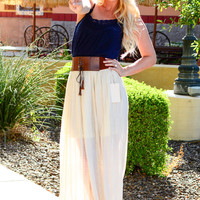 SWAY IN THE FIELDS MAXI SKIRT