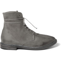 Marsell - Washed-Leather Boots