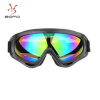 BOLLFO Ski glasses outdoor sports glasses, motorcycle anti-wind sand, cycling glasses