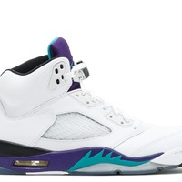 "AIR JORDAN 5 RETRO ""GRAPE 2013 RELEASE""  BASKETBALL SNEAKER"