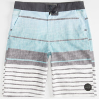 Valor Array Boys Hybrid Shorts - Boardshorts And Walkshorts In One Blue  In Sizes