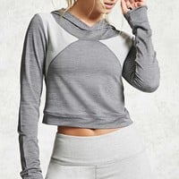 Active Cropped Hoodie