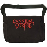 Cannibal Corpse Logo Messenger Bag Black