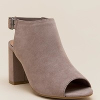 CL by Laundry Bestie Peep Toe Shootie