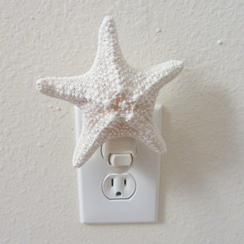 Beach Decor - Starfish Night Light