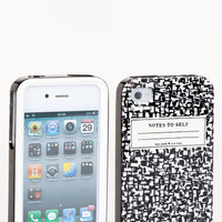 kate spade new york 'composition notebook' iPhone 4 & 4S case   Nordstrom