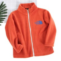 The North Face Girls Boys Children Baby Toddler Kids Child Fashion Casual Cardigan Jacket Coat