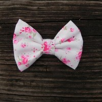 Little Lady Boutique  | Baby Rose Floral Bow | Online Store Powered by Storenvy