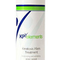 KP Elements Body Scrub - Keratosis Pilaris Treatment - Clear up Red Bumps on Your Arms and Thighs by combining this KP Scrub with Our KP Treatment Cream (1)