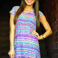Topped With Sprinkles Dress: Multi.   Hope's