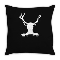hannibal   stag Throw Pillow