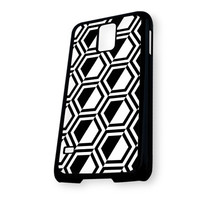 Black Pattern 1 Samsung Galaxy S5 Case