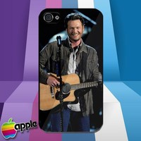 Blake Shelton Country Music iPhone 4 or iPhone 4S Case