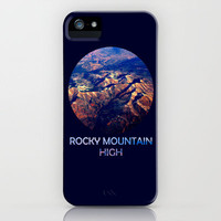 Rocky Mountain High iPhone Case by Josrick | Society6