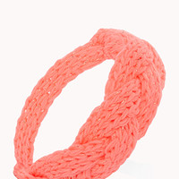 Braided Open-Knit Headband