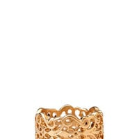Regal Cutout Filigree Ring