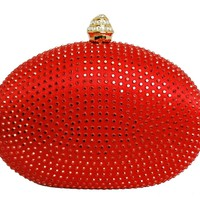 Clutch Bag Rhinestone Crystal Minaudiere
