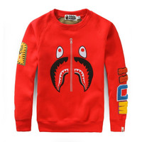 BAPE Sweatshirt Red
