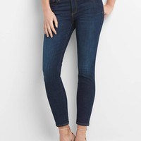 Mid rise true skinny ankle jeans | Gap