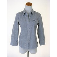 Juicy Couture Monogram Button Down Shirt 4