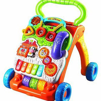 VTech Sit-to-Stand Learning Walker Baby Toy Kid Kids New Free Ship
