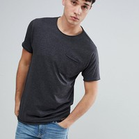 Brave Soul TALL Basic Raw Edge T-Shirt at asos.com