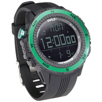 PYLE PSWWM82GN Digital Multifunction Active Sports Watch (Green)