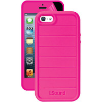 Isound Iphone 5 And 5s 3-in-1 Duraguard Case (pink)
