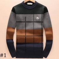 Burberry 2018 autumn and winter round neck knit long sleeve sweater F-A00FS-GJ #1