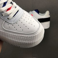 606 Nike Air Force 1 Low Type CMFT Signature CI0054-100 Fashion Causal Skateboard Shoes