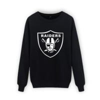 Fall and winter raiders rugby team large size sports coat male Round neck long sleeve sweater