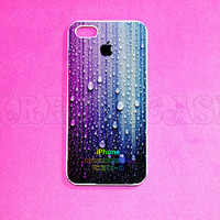 iPhone 5 Case, Colorful Raindrop iPhone 5 Case for iPhone 5