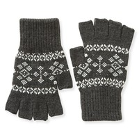 Fairisle Fingerless Gloves