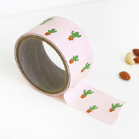 """Iconic 1.96""""X11yd pattern adhesive reform tape - Cactus"""