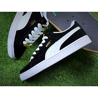 Puma Suede Classic BBOY Fabulous 50th Black White Shoes