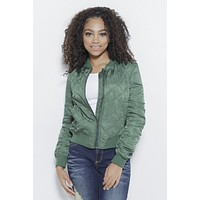 Quilted with Love- Bomber Jacket