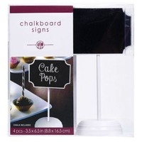 Chalkboard Place Card Holders 4ct- Party City