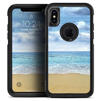 Calm Blue Sky and Sea Shore - Skin Kit for the iPhone OtterBox Cases