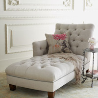 NM EXCLUSIVE Maddox Tufted Chaise