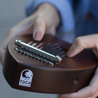 Toca Wood Kalimba Thumb Piano - Large