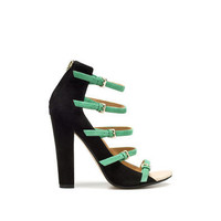 STRAPPY SANDAL WITH BUCKLES