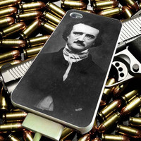 Horror Edgar Allan Poe for iPhone 4/4s/5/5s/5c/6/6 Plus Case, Samsung Galaxy S3/S4/S5/Note 3/4 Case, iPod 4/5 Case, HtC One M7 M8 and Nexus Case ***
