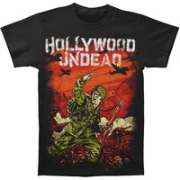 Hollywood Undead Men's  For The Glory T-shirt Black