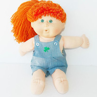 BITTY BABY CLOTHES, doll boy, girl or 15 inch twin, St. Patrick's Day, Irish, Shamrock, or cabbage patch kids, handmade adorabledolldesigns