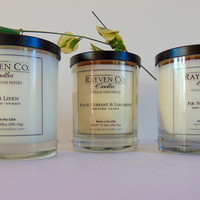 3 Assorted Scented Candles