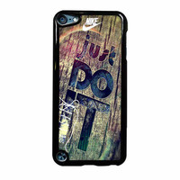 Nike Just Do It Wood iPod Touch 5th Generation Case