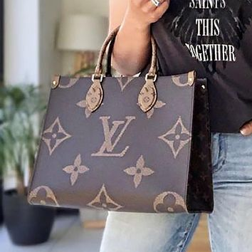 Louis Vuitton LV Handbag LV Fashion ladies printed fashion shoulder bag handbag shopping bag